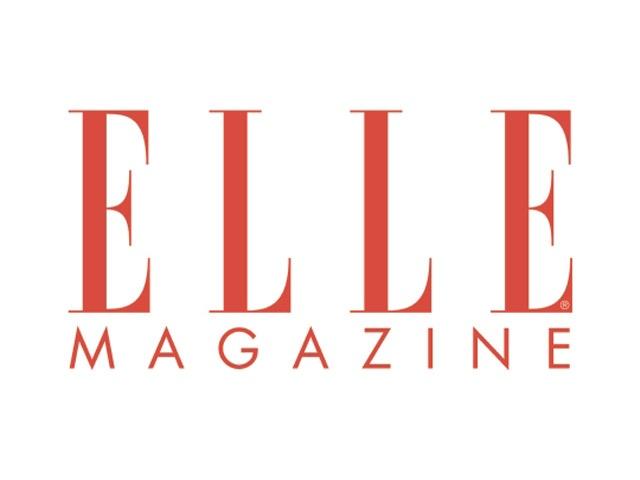 Logo elle magazine