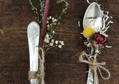 Fleurs séchées Mameez vintage toulouse