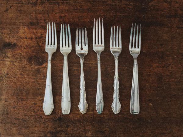 Fourchette à entremet vintage toulouse