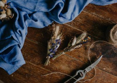 Bouquet de fleurs séchées Box