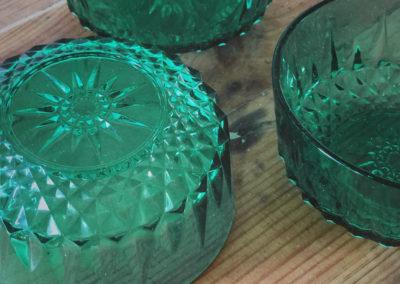 Ramequin vintage vert Arcoroc