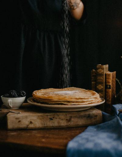 Chandeleur Toulouse recette crêpes vintage