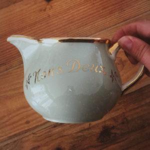 Pot à lait vintage Nous deux