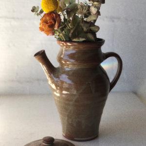 Pichet Carafe en grès vintage