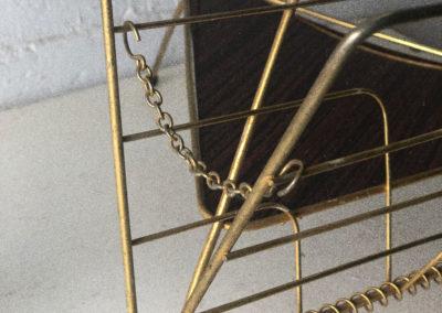 Porte revues vintage avec cendrier
