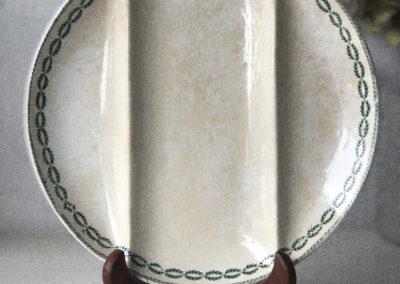 Assiettes vintage vaisselle Sarreguemines